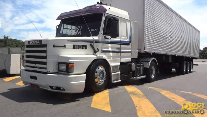 scania 113h top - lombada