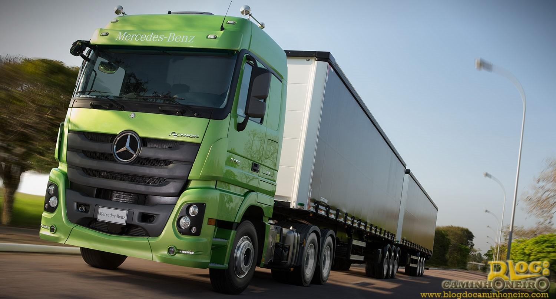 Mercedes-Benz Actros é eleito o melhor caminhão extrapesado de 2016 ... 6175176ee5803