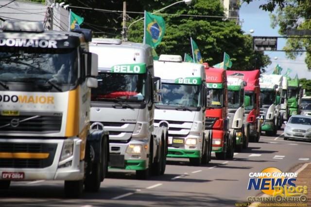 protesto caminhoneiros campo grande (2)