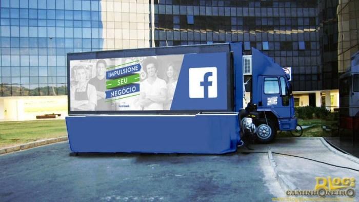 caminhao do facebook