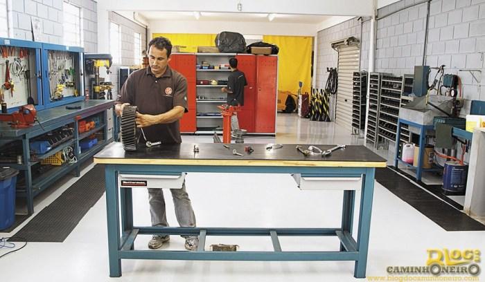 Ex-caseiro e quase engenheiro Beto: formação para cuidar da mecânica