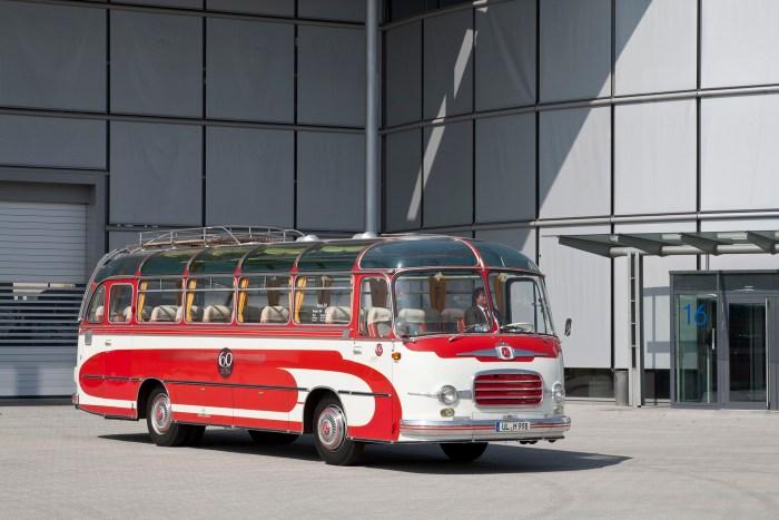 Ônibus Setra S 9, do ano de 1959