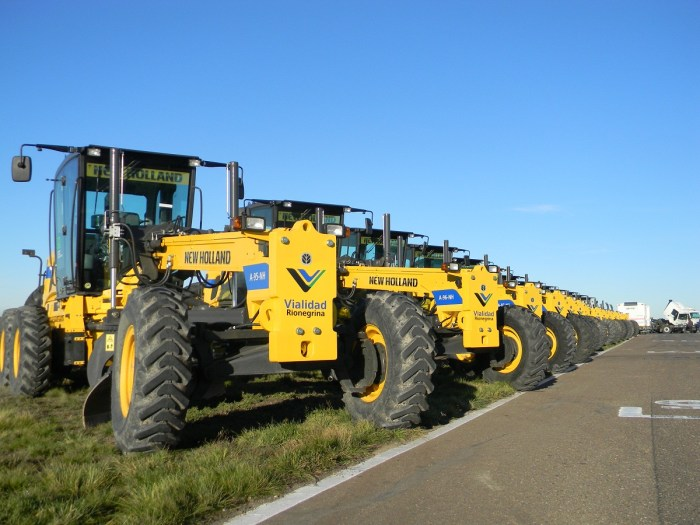motoniveladoras new holland