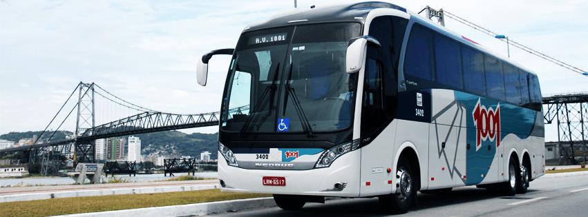 Viação 1001 contrata motoristas de ônibus rodoviário