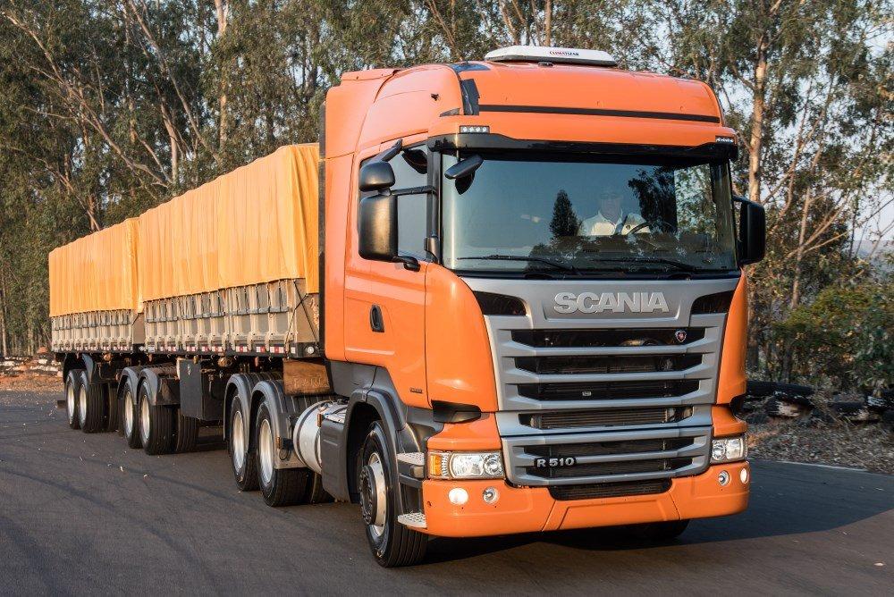 Scania apresenta novos motores de 13 litros, com potências de 450 e 510cv