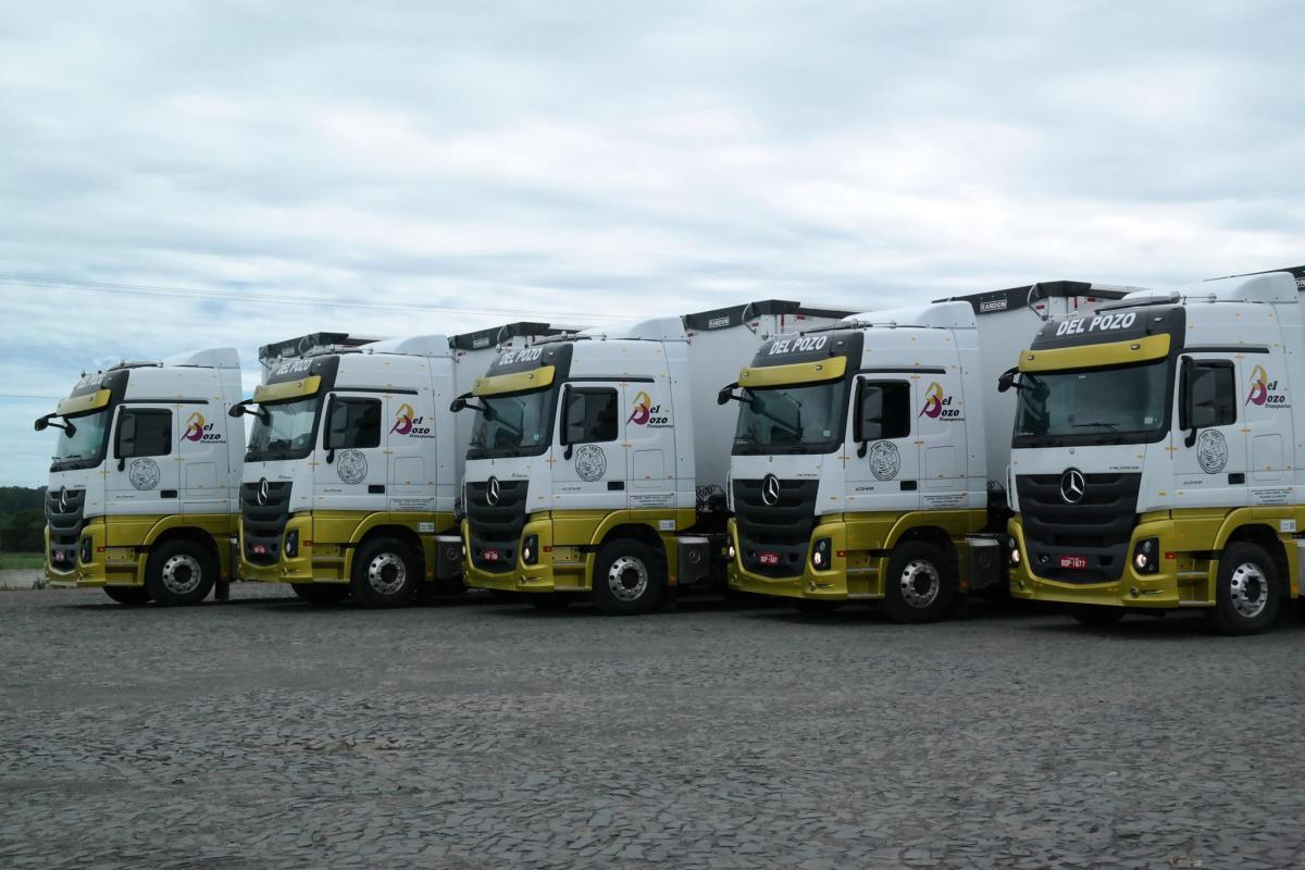 Del Pozo Transportes anuncia abertura de vagas para motoristas carreteiros em Ponta Grossa-PR
