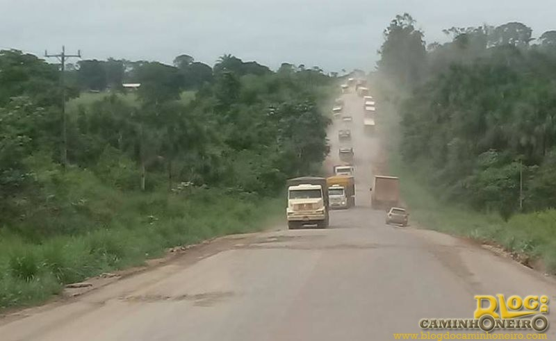 Caminhoneiros denunciam abuso da PRF na BR-163