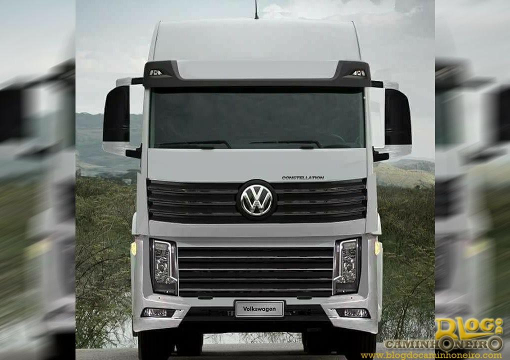 Volkswagen prepara atualização da linha Constellation