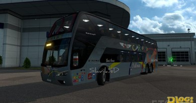 ETS 2 – Scania Panoramico DD 6 × 2