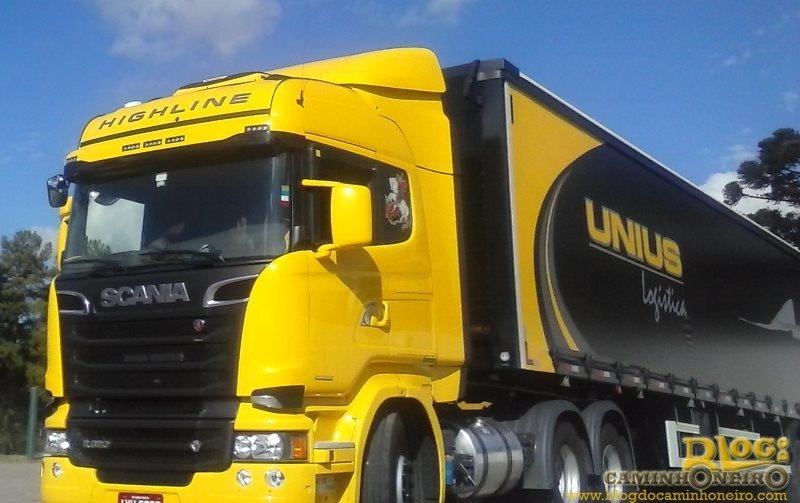 Unius Logística tem vagas para motoristas carreteiros