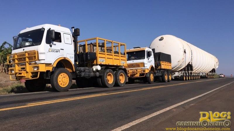 Desafio alcançado: transporte supera expectativas de prazo com carga excedente