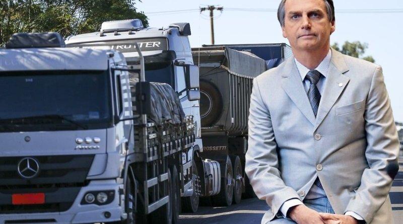Acredito que caminhoneiros não vão fazer paralisação, afirma Bolsonaro