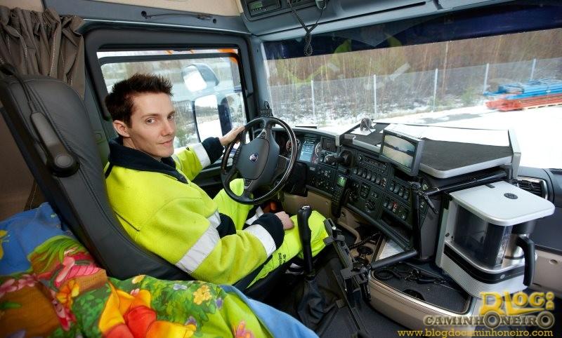 Cerca de 21% da frota de caminhões na Europa está parada por falta de motoristas