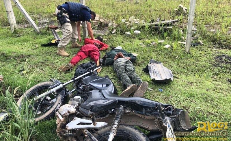 Mais dois suspeitos de praticar assaltos na região da Serra do Cafezal são presos pela PRF