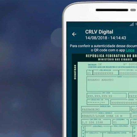 Saiba como baixar o CRLV digital