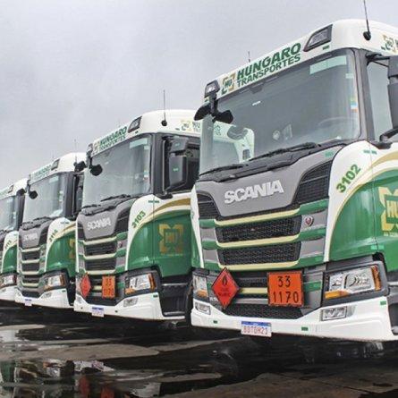 Hungaro Transportes contrata motoristas carreteiros para operação com tanques e graneleiros no Paraná