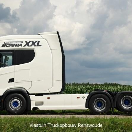 Scania S580 XXL é colocada à venda na Europa