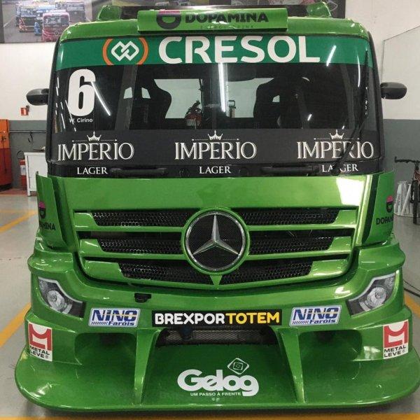 Novo Actros estará na Copa Truck