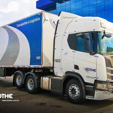 Kothe Transportes fará ação itinerante para contratação de motoristas carreteiros