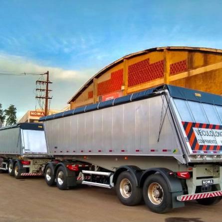 Rodotrem de alumínio oferece ganho na carga transportada