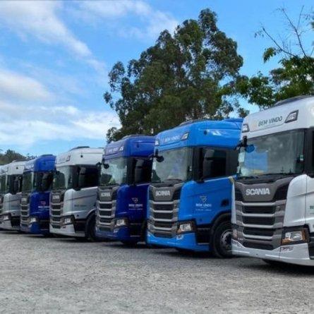 Posto Bem Vindo adquire 32 novos caminhões Scania