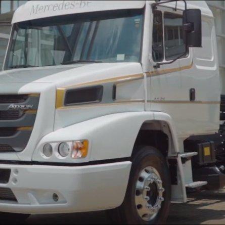 Últimas unidades do Mercedes-Benz Atron 1635 serão colocadas a venda