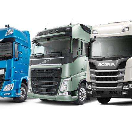 Scania R 450 e DAF XF são os caminhões mais vendidos na parcial de abril