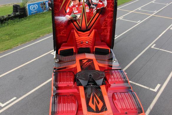 Ristimaa Customs Kimi Raikkonen Scania 650S Iceman 25