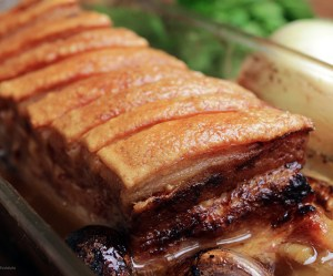 Costelinha de porco ao forno