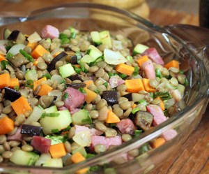 A Melhor Salada de Lentilha do Chef Taico