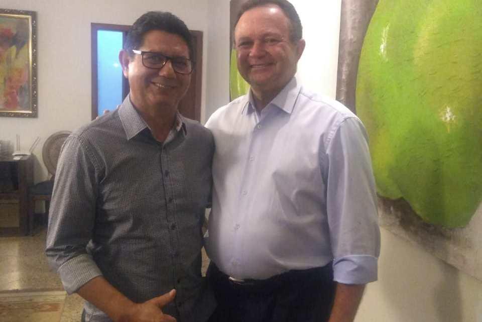 Turilândia / Vice-prefeito Gonzaga Ferraz participa de reunião com o vice-governador Carlos Brandão falando sobre eleições 2020