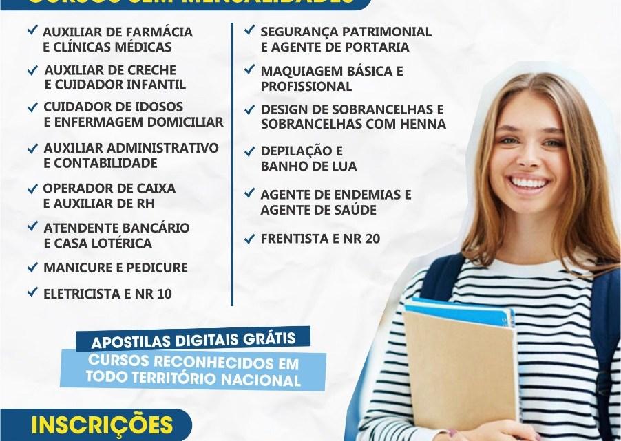 Pinheiro – Instituto DIGPRO oferece cursos profissionalizantes sem mensalidades com início neste domingo dia 19, faça já sua inscrição