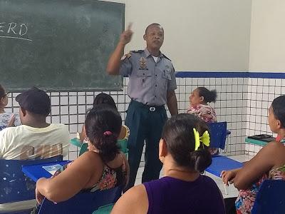 Prefeitura de Presidente Sarney implanta Proerd em parceria com a Polícia Militar