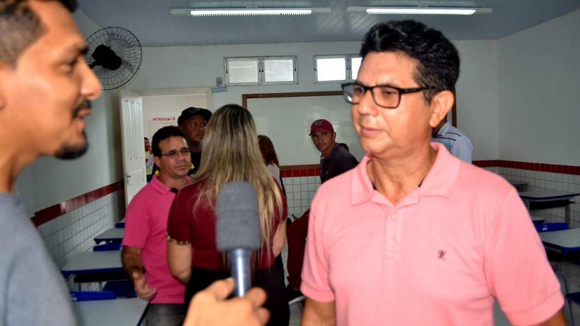 Turilândia / Vice-Prefeito Gonzaga Ferraz participa da inauguração da escola Digna no povoado Turi Mirim