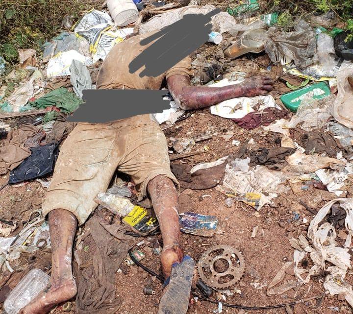 Corpo de Homem em avançado estado de decomposição, é encontrado no povoado Barroso / Bequimão-Ma