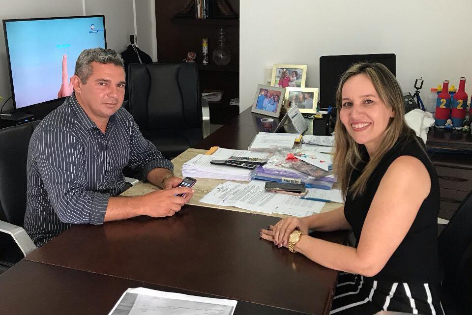 Empresário Gean Freitas participa de reunião com a deputada estadual Detinha na capital São Luís-MA