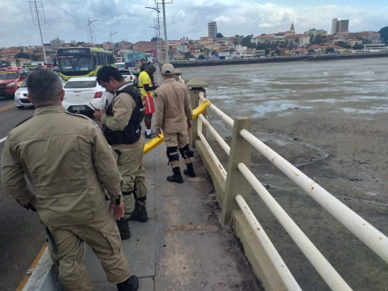 Homem se joga da ponte do São Francisco em São Luís