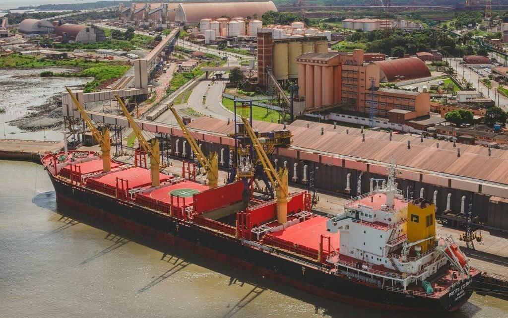 Porto do Itaqui já movimentou 7 milhões de toneladas de grãos em 2019