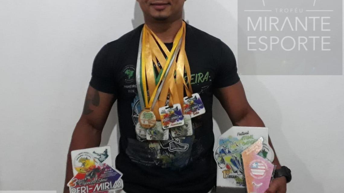 Atleta Pinheirense é indicado para o Troféu Mirante