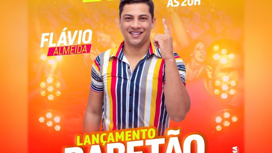 Cantor Flávio Almeida lança nesta quinta-feira (16) o seu mais novo sucesso, hit promete ser estouro no carnaval