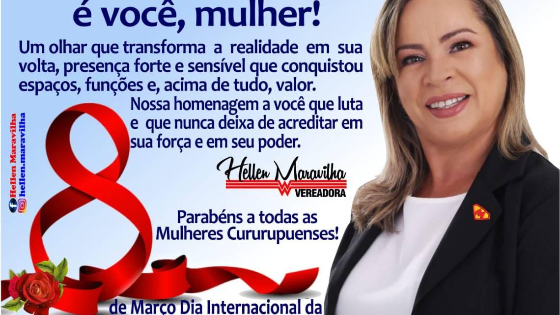 Cururupu – Vereadora Mulher Maravilha, promove evento sociocultural em homenagem ao Dia Internacional da Mulher, confira