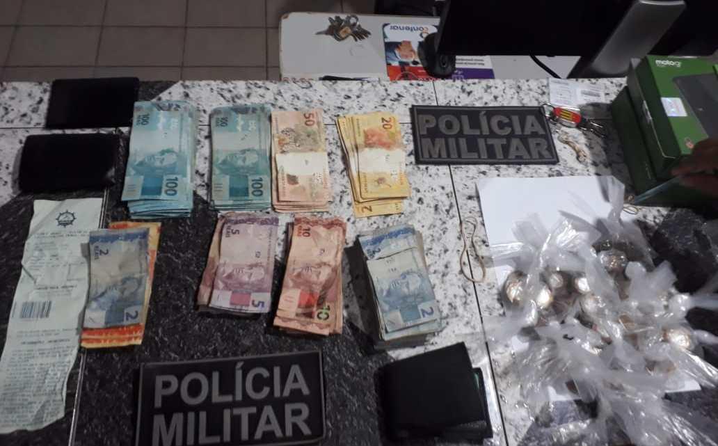 Polícia militar de Pinheiro, prende cinco bandidos que assaltaram as Lojas Americanas de Santa Helena nesta quinta-feira (02)