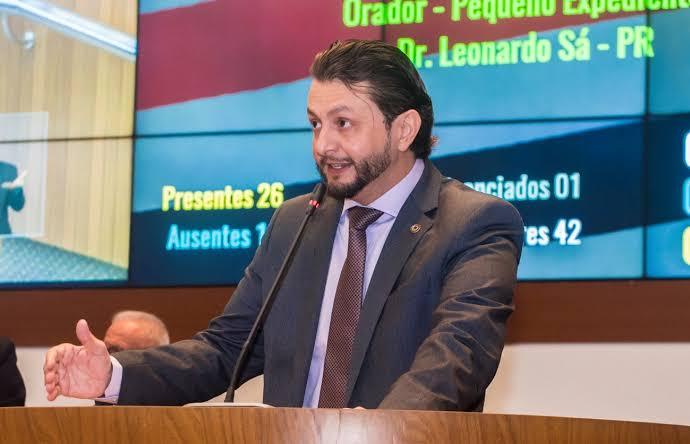 Deputado Estadual Leonardo Sá, pede que o ministério público fiscalize a aplicação dos recursos enviados pelo governo federal à prefeitura de Pinheiro para o combate a COVID-19