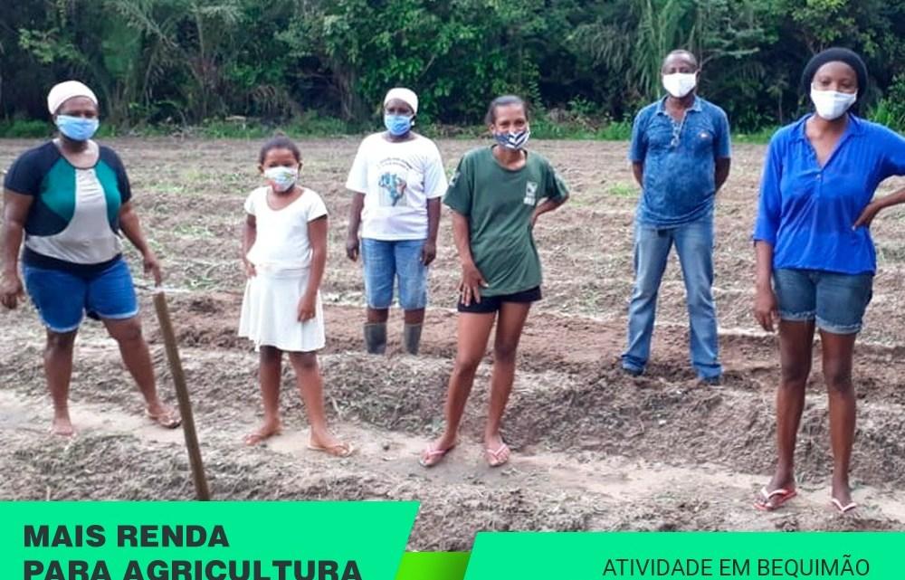 AGERP em ação – Programa de aquisição de alimentos (PAA) chega na comunidade quilombola Marajá no município de Bequimão