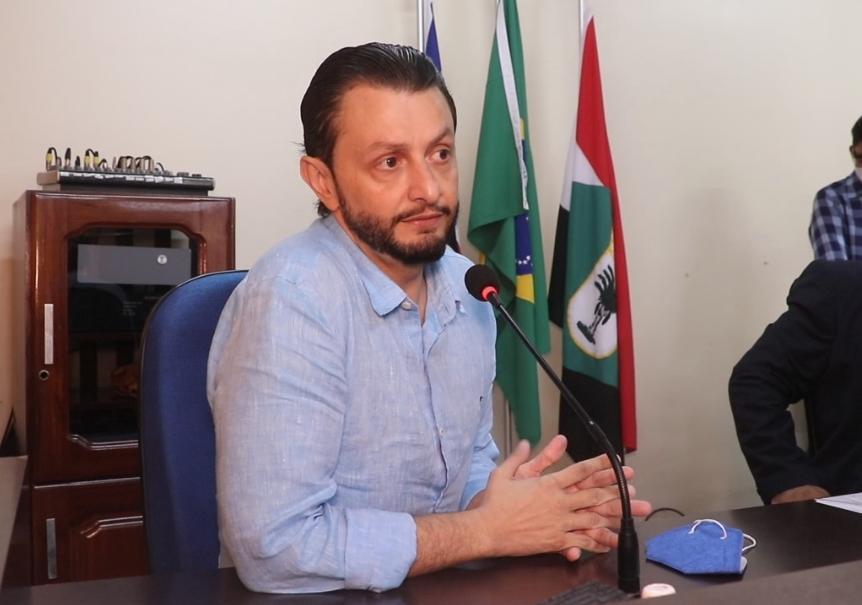 Deputado Estadual Dr Leonardo Sá, visita câmara de vereadores em Pinheiro
