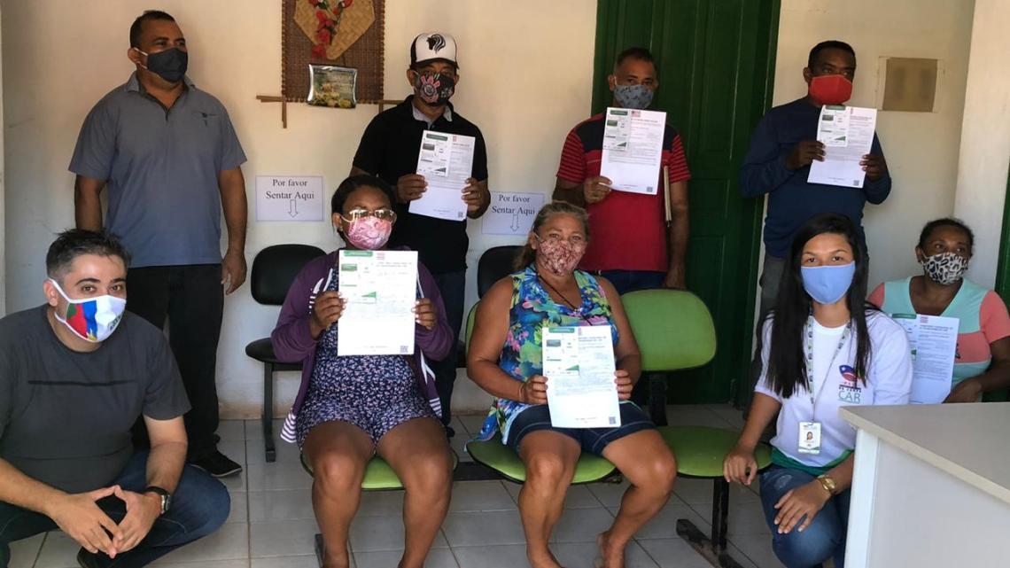 Agerp realiza entrega de recibos do CAR em comunidades quilombolas de Pinheiro