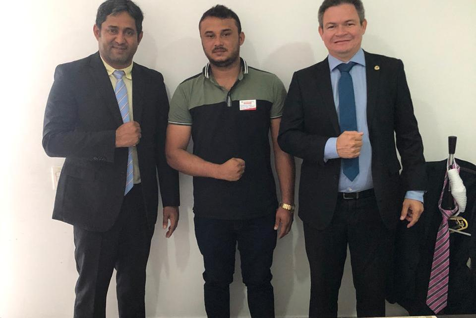Bruno Cardoso fecha parceria com os deputados Toca Serra e Rafael Leitoa, e fortalece seu projeto político rumo a prefeitura de São João do Caru
