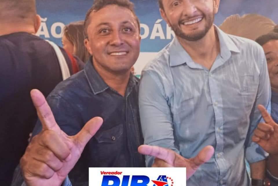 Vereador Riba do Bom Viver, lança sua candidatura à reeleição durante convenção municipal do PL em Pinheiro