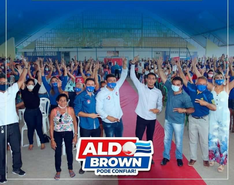 """Porto Rico – Aldo Brown segue firme rumo e vitória e diz """"As perseguições dos opositores não nos abalam"""""""