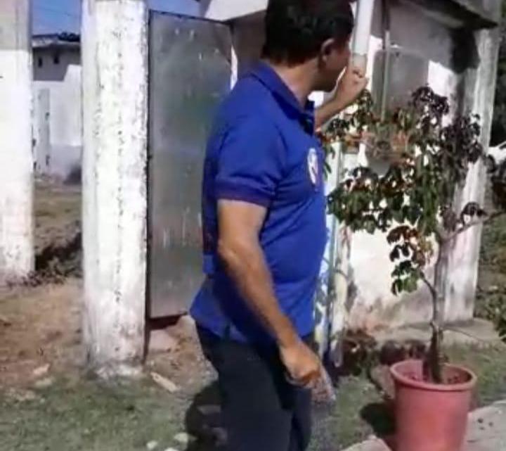 Após denúncia feita pelo vereador Riba do Bom Viver, prefeitura de Pinheiro decidiu solucionar problema da bomba do poço artesiano do povoado Bom Viver